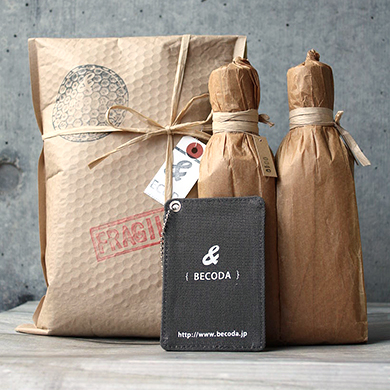 BECODA GIFT SET-AUBOCASSA Half Bottle-